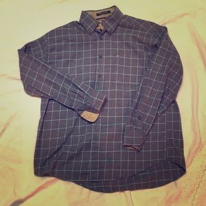 Men's Tommy Hilfiger Button Down Flannel